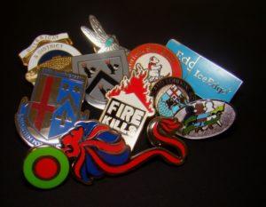 Hard Enamel Metal Badge, Printed Metal Badge