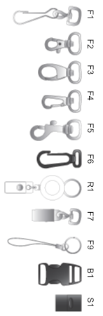 Lanyard fittings