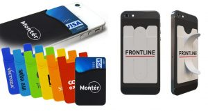 silicon phone wallets 2 types